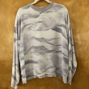 BASERANGE silk long sleeve top